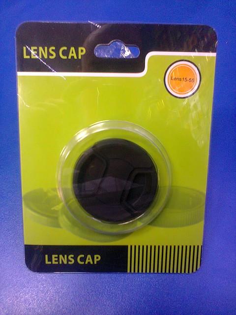 """Кришка на об'єктив """"Lens Cap"""". 15-52"""