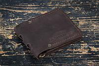 Зажим для денег кожаный mod.Stayer brown classic, фото 1
