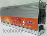 Инвертор напряжения, преобразователь 24/220V - 2500W, фото 4