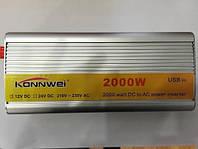 Инвертор напряжения, преобразователь 24/220V - 2000W