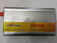 Инвертор напряжения, преобразователь 12/1000W
