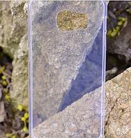 Гибкий прозрачный TPU чехол-накладка для Samsung Galaxy S6