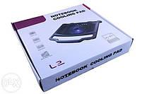 Охлаждающая подставка кулер для ноутбука CL-L2, фото 3