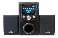 Акустическая система AU-0384 (220V+USB+FM+карта памяти)