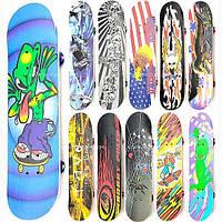 Скейт детский 3108 А / 466-614 колеса PVC разные цвета, фото 1