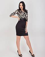 Элегантное женское платье, размеры 44-52, фото 1