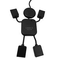 USB HUB (разветвитель) на 4 порта Человечек HB-64, белый, фото 8