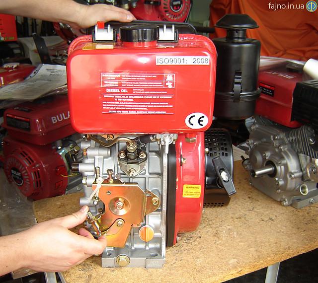 Дизельний двигун WEIMA (Вейма) WM178F (6 к.с., дизель)