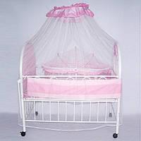 Кроватка XG9231 металлическая