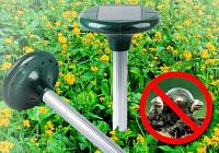 Отпугиватель грызунов, кротов на солнечной батарее Solar Rodent Repeller ультразвуковой
