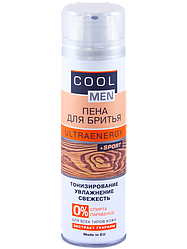 "Пена для бритья ULTRAENERGY TM ""Cool men"" 250мл"