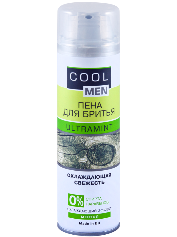 "Пена для бритья ULTRAMINT TM ""Cool men"" 250мл"
