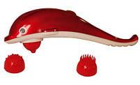 Ручной массажер Дельфин, массажер для тела Dolphin, вибромассажер для похудения, массажер для шеи, фото 2