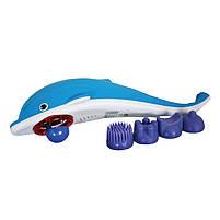Ручной массажер Дельфин, массажер для тела Dolphin, вибромассажер для похудения, массажер для шеи, фото 3