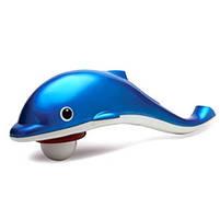 Ручной массажер Дельфин, массажер для тела Dolphin, вибромассажер для похудения, массажер для шеи, фото 4