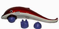 Ручной массажер Дельфин, массажер для тела Dolphin, вибромассажер для похудения, массажер для шеи, фото 5