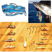 Набор снастей MIGTHTY BITE для рыбной ловли