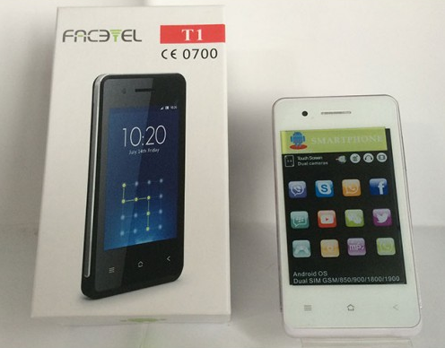 """Мобильный телефон Facetel T1 Android 3,5"""" 1Н"""