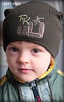 Шапка для мальчика с вышивкой, фото 1
