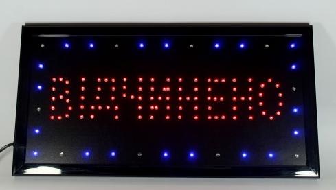 LED вывеска Вiдчинено