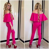Комбез женский летний Николь розовый,магазин одежды