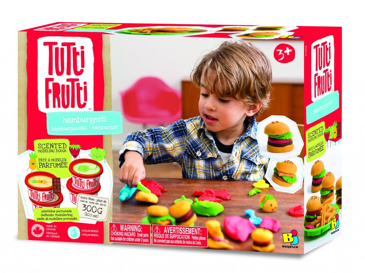 """Набор для лепки Tutti-Frutti """"Гамбургеры"""" (BJTT14809)"""