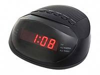 Электронные часы SUPRA CR-318P с будильником и FM радио