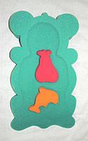 Поролоновый матрасик с мочалками