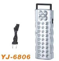 Светильник аккумуляторный светодиодный (LED Emergency Lamp) YJ-6806