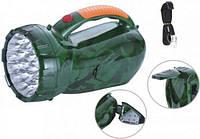Cветодиодный аккумуляторный автомобильный фонарик Yajia YJ-2809 АКБ/220 В