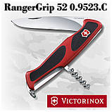 Нож Victorinox RangerGrip 52 0.9523.C красно-черный, 5 функций, фото 2
