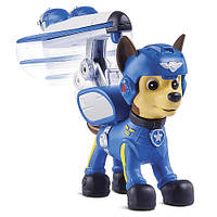 Щенячий патруль- Чейз Paw Patrol, Air Rescue Chase, Pup Pack & Badge, фото 1