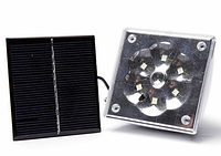 Светодиодная лампа на солнечной батарее с пультом GD-5017, аккумуляторная