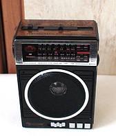 Приёмник с функцией плеера golon rx-078, встроенный led-фонарик, аккумулятор / сеть / батарейки, антенна