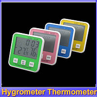 Электронный термометр с гигрометром DC-107