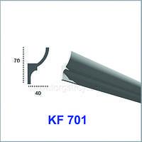 Карниз для скрытого освещения KF 701  (2.44м), Tesori