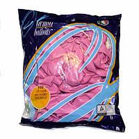 """Воздушные шары Gemar пастель 12""""(30 см) розовый 100 шт"""