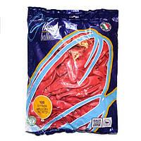 """Воздушные шары Gemar пастель 12""""(30 см) красный 100 шт"""