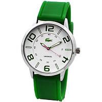 Яркие наручные детские часы 8066 каучук Lacoste кварцевые