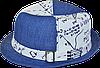Шляпа детская челентанка 4-клинка математика