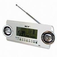Часы сетевые 791LCD, радио FM, USB, SD