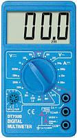 Тестер dt700b, цифровой, универсальный, мультиметр, прибор для измерений, тестирования, прозвонки цепей