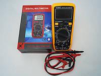 Тестер цифровой vc890c, многофункциональный мультиметр, функция удержания данных, автоотключение, 9в (крона)