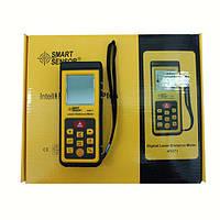 Дальномер цифровой AR-871, лазер-рулетка, измерение расстояний +/-2мм, 0,3-40м, питание 2*ААА