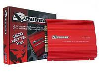 Усилитель  CAR AMP 500.2  Фирменный усилитель Cougar Пиковая мощность 1000W Количество каналов 2