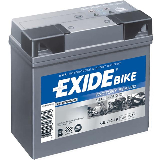 Мото акумулятор EXIDE GEL/AGM