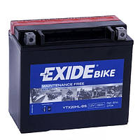 Мото аккумулятор EXIDE YTX20HL-BS