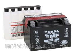 Аккумулятор для мотоцикла YUASA YTX9-BS сухозаряженный AGM 9Ah 135A 150x87x105, фото 2