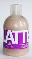Шампунь питательный для сухих, поврежденных химическим воздействием волос c молочными протеинами1000 мл Kallos, фото 1