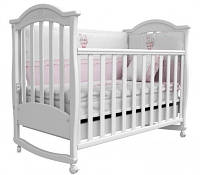 Детская кроватка Соня ЛД-3 с резьбой